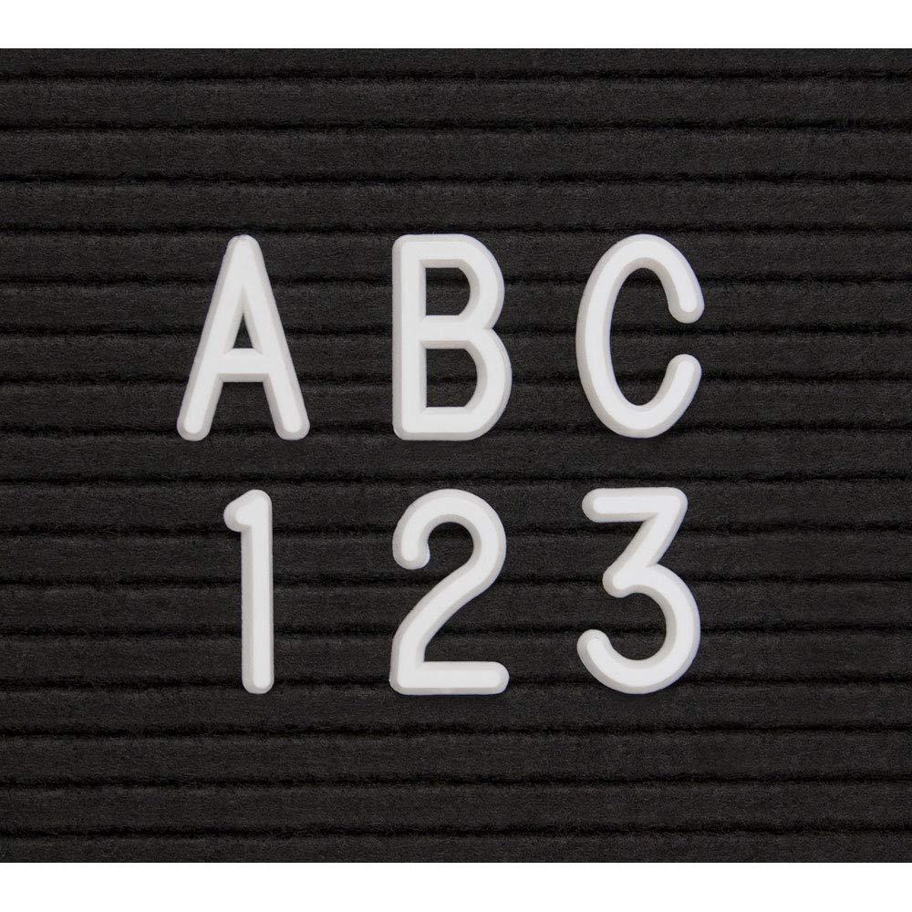 White 3'' Helvetica Letter Box Set