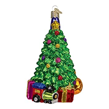 Image Unavailable. Image not available for. Color: Old World Christmas  Ornaments: Christmas Morning Tree Glass Blown ... - Amazon.com: Old World Christmas Ornaments: Christmas Morning Tree