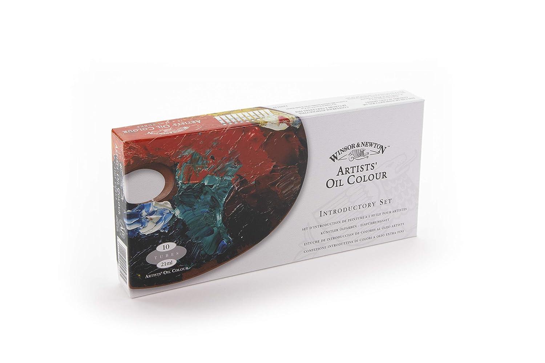 Winsor & Newton Artists Oil Colour Paint Introductory Set, Ten 21ml Tubes