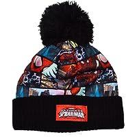Boys - Marvel Ultimate Spiderman Bobble Winter Hat