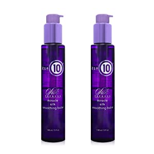 it's a 10 Haircare Silk Express Miracle Silk Smoothing Balm, 5 fl. oz. (Pack of 2)