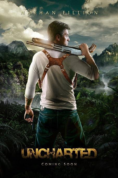 Amazon Com Tomorrow Sunny Uncharted Movie Poster Art Wall