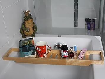 Bagno Legno Naturale : Ikea ripiano per la vasca da bagno mensola in legno per vasca