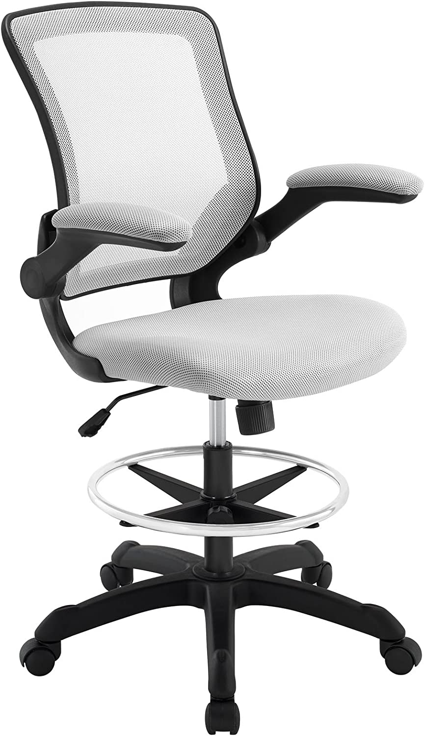 Modway Veer Drafting Stool Chair – A premium chair that doubles as a stool