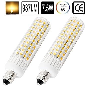 E11 Bombilla LED 75 W 100 W bombillas halógenas de repuesto, 850 lúmenes, JD