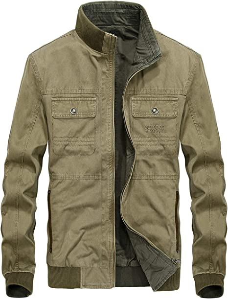 amazon chaquetas entretiempo hombre
