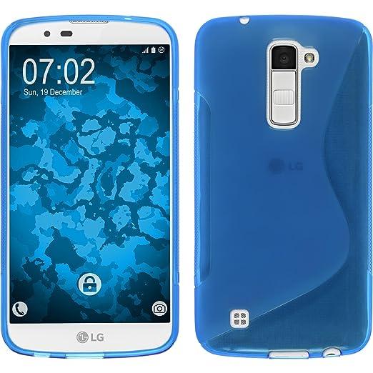 3 opinioni per PhoneNatic Custodia LG K10 Cover blu S-Style K10 in silicone Case