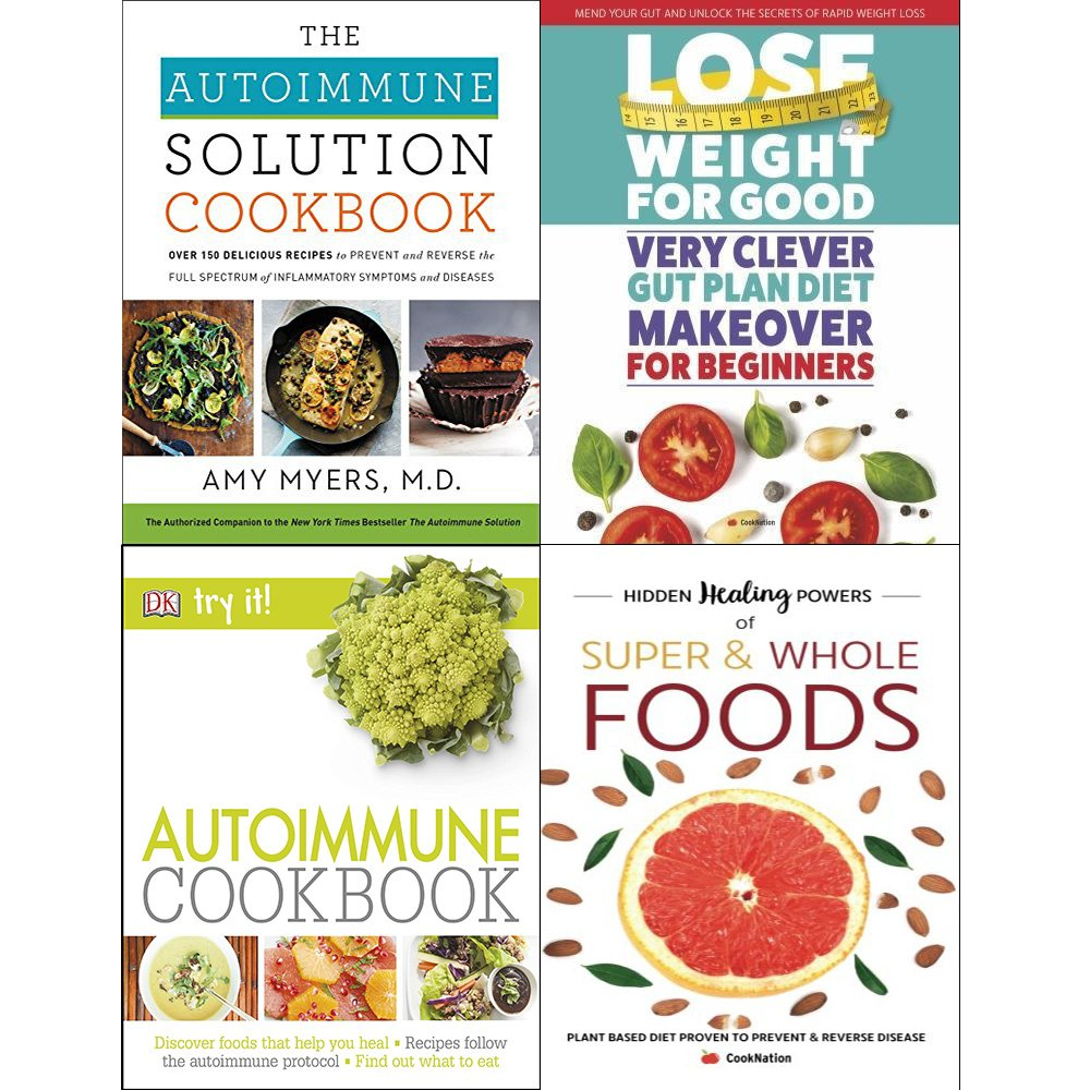Autoimmune cookbook amy myers [hardcover], very clever gut