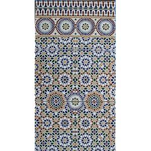 3 cerámica azulejos Alhambra 701 FliesenBild pared azulejos mosaico azulejos marroquí azulejos