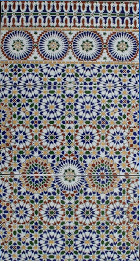 3 cerámica azulejos Alhambra 701 FliesenBild pared azulejos mosaico ...