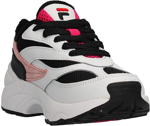 Fila 1010780 Chaussures pour Enfant Blanc Blanc, 29 EU