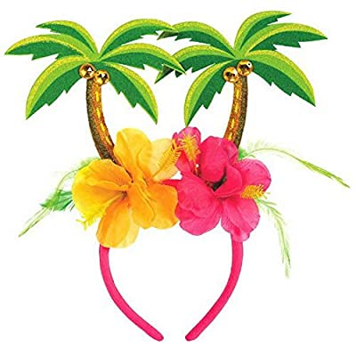 "amscan Palm Tree Party Head Bopper, 10.25"" x 10"": Kitchen & Dining"