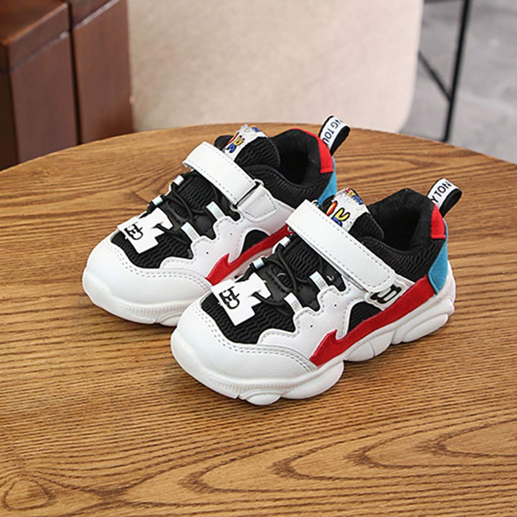 Cloudro Baby Mesh Sneakers Little Boy Girl Sports Running Soft Shoes for 1-6 Years