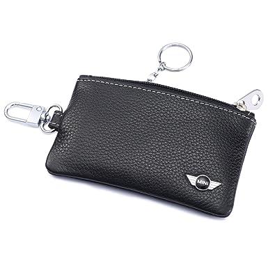 Amazon.com: Mini Cooper Car Key Holder Funda Fob remoto con ...