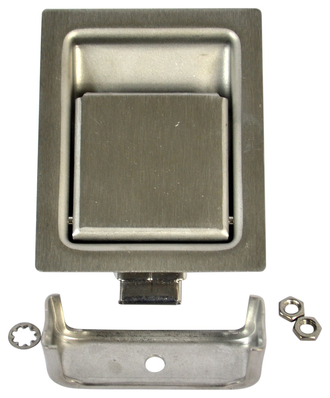 Southco Inc 64-21-10 Flush Paddle Latch 2.81 Long x 2.19 W Installation Hole, Southco Flush Paddle Latches (Pack of 4)