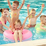 ArtCreativity Colorful Water Splash Ball Set - Pack of 12 - Water Soaker Balls - Assorted Pool and Beach Reusable Toys - Fun Summer Gift from Moms for Kids Ages