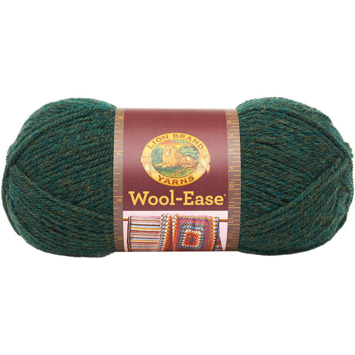 Lion Brand Wool-Ease Yarn (152) Oxford Grey, Oxford Grey (620-152) Lion Brand Yarn