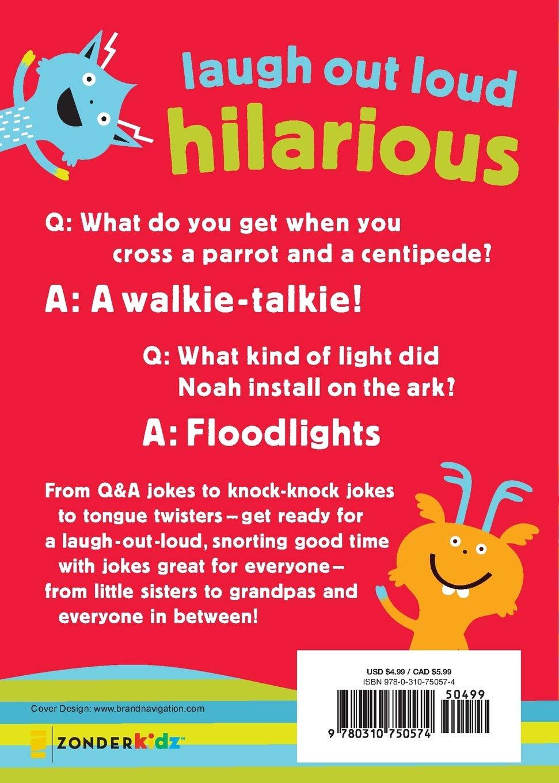 Lots Of Jokes For Kids Zondervan 9780310750574 Amazon Com Books