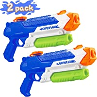 OLOEY Squirt Water Guns for Boys - 900CC Super Water Guns for Kids Adults-Swimming Pool Toys Water Fighting with Powerful Stream for Outdoor and Garden Playing - 2 Pack