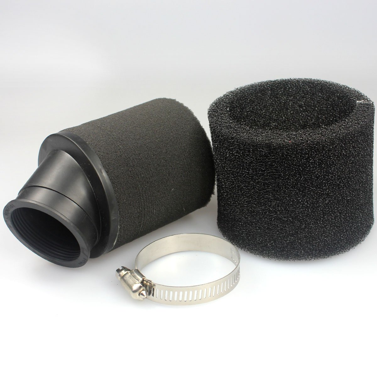 alas 48/mm Negro Espuma filtro de aire claro para Honda Yamaha Suzuki 172/mm 250/cc ATV Scooter Ciclomotor