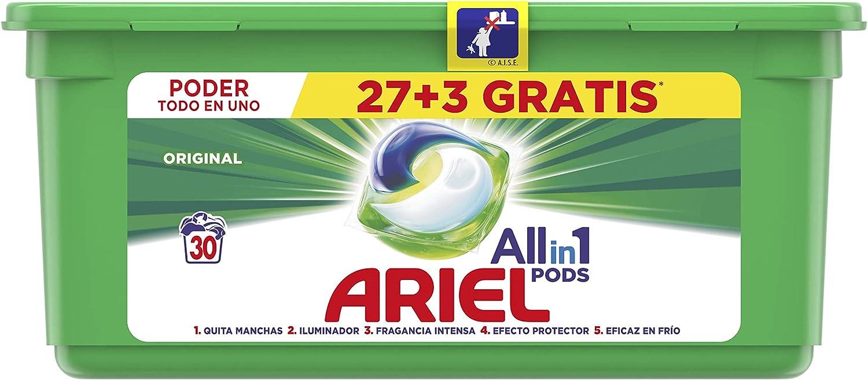 Ariel Regular Detergente en Cápsulas - 31 Lavados (81612565): Amazon.es: Salud y cuidado personal