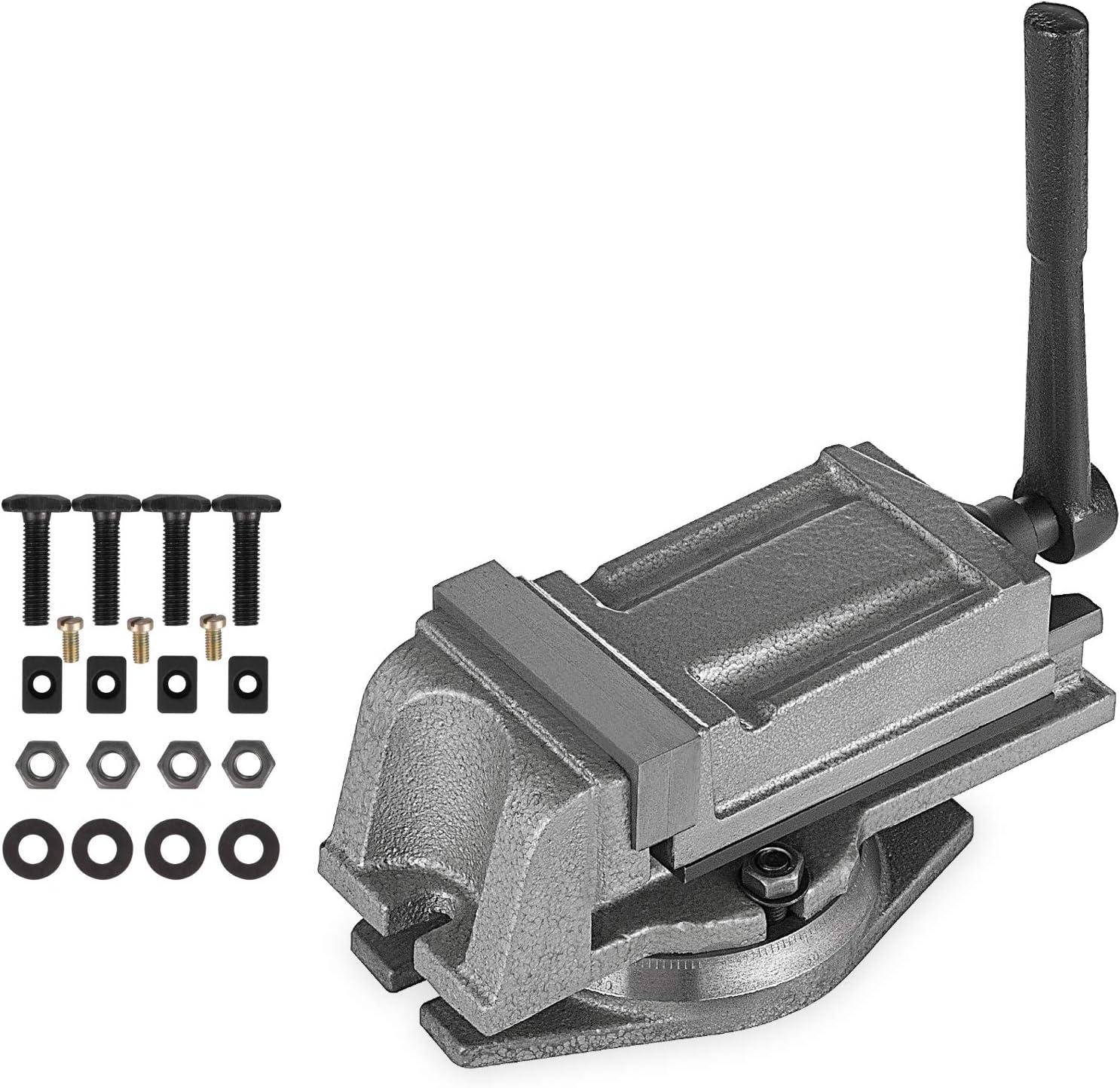 Drill Press Vice 80 mm High Precision-Steel Jaws