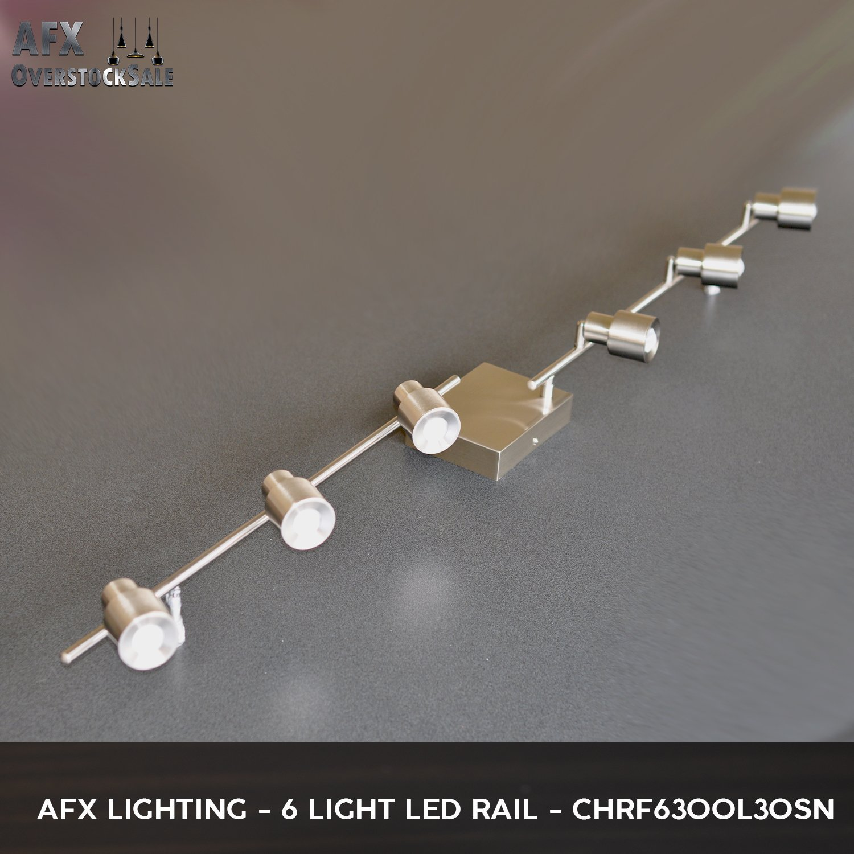 82b7a5d84c51 AFX 326632 Jordan 95-Watts Satin Nickel Integrated LED Pendant - -  Amazon.com