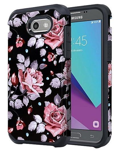 new style f31c7 947e3 for Samsung Galaxy J3 Emerge / J3 Prime / J3 Mission / J3 Eclipse / J3 2017  / J3 Luna Pro/Sol 2 / Amp Prime 2 / Express Prime 2 Case, OEAGO Shockproof  ...