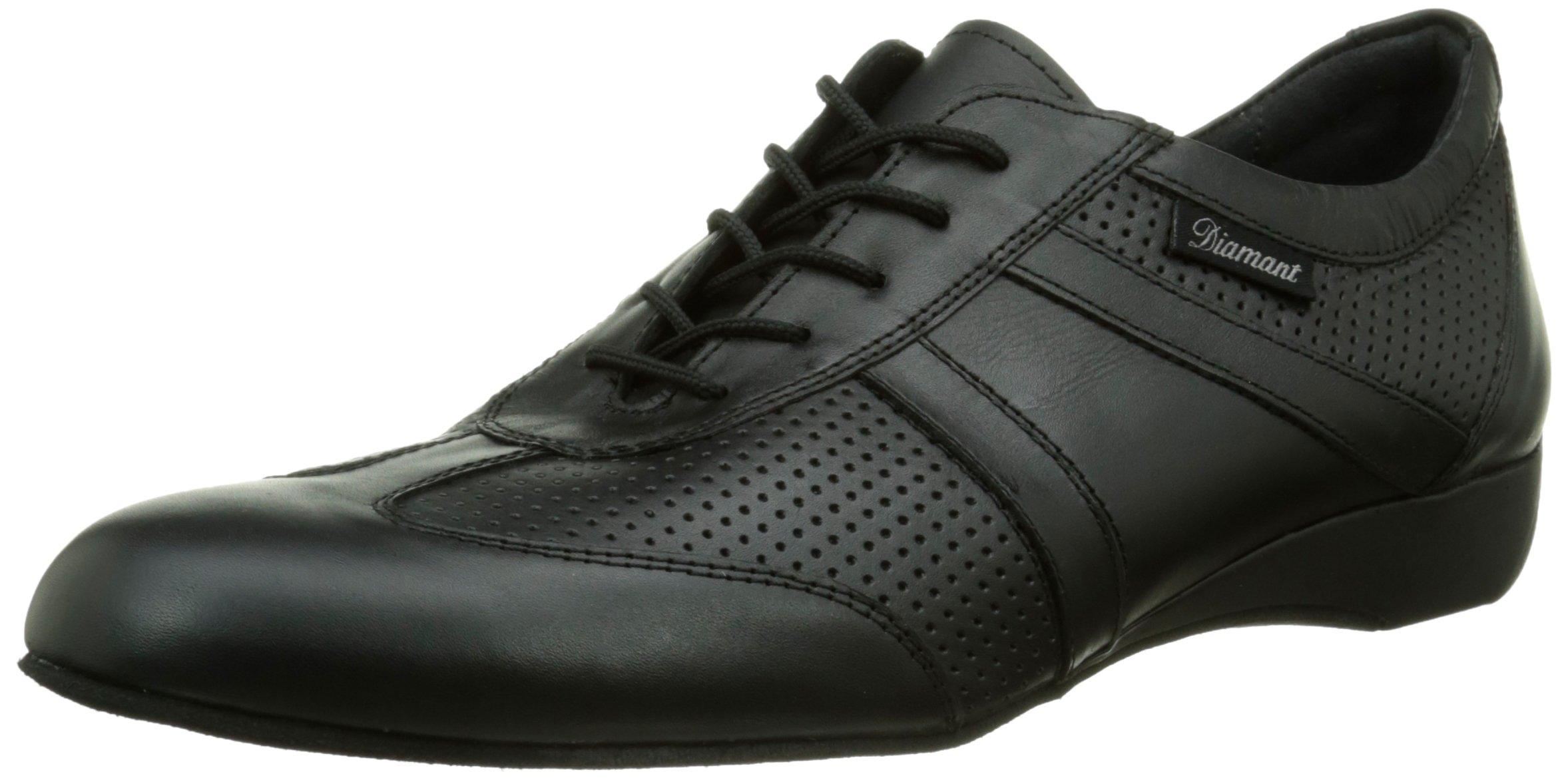 Diamant Men's Model 13 Dance Sneaker- 1'' (2.5 cm) Wedge Heel (Wide - H Width), 13.5 W US (13 UK)