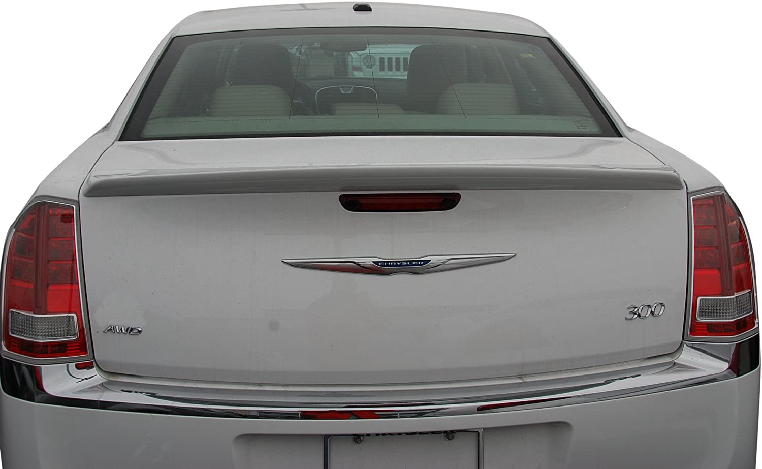 Painted Factory Style Spoiler fits the Chrysler 300 518 PSC with 3M tape included
