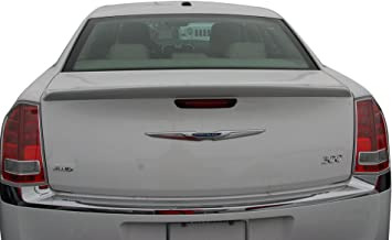 Painted Factory Style Spoiler fits the Chrysler 300 518 Phantom Black PXT with 3M tape included