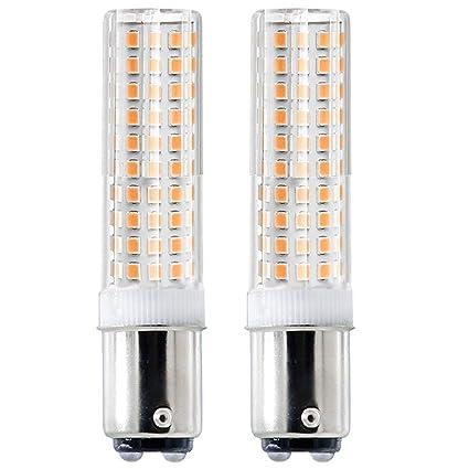 BA15D 120 V 50 W luz LED regulable bombilla halógena Jd tipo ...