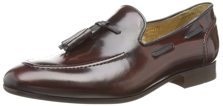 HudsonPierre - Zapatos Sin Cordones Hombre 47 EU|Marrón - Brown (Bordo)