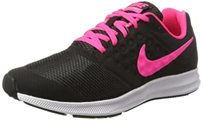 designer fashion 7b8f1 f009e Nike Kids Downshifter 7 (GS) Black Hyper Pink White Size 5