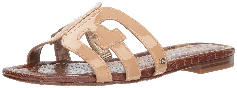 Sam Edelman Women's Bay Slide Sandal B07FZKKXQQ 5.5 M US|Almond Patent