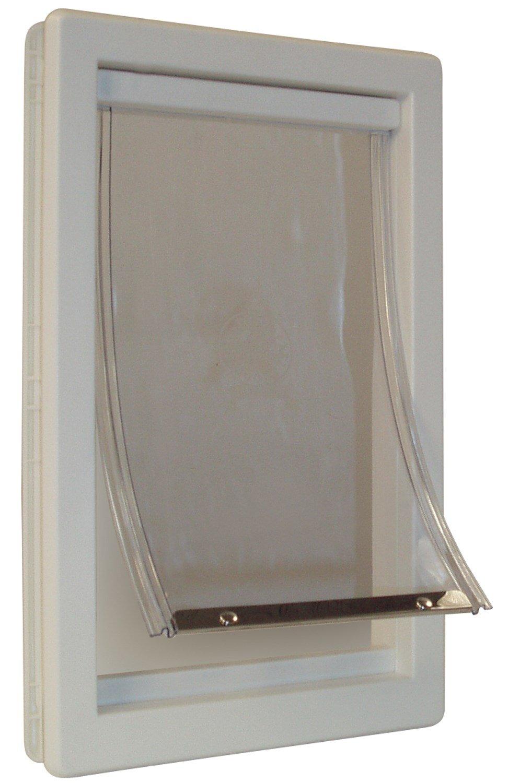 Ideal Pet Products Original Pet Door with Telescoping Frame, Medium, 7'' x 11.25'' Flap Size