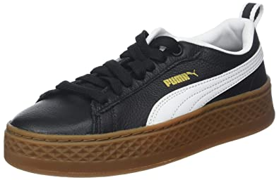 d983ffe06193de Puma Women s Smash Platform VT Low-Top Sneakers Black White