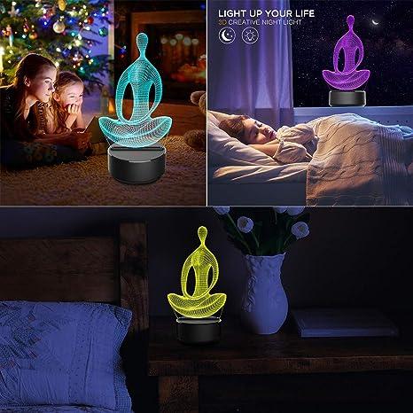 Amazon.com: Glumes - Luces de noche de meditación para niños ...
