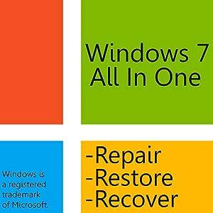 Windows 7 AIO Boot Disc - 32bit/64bit for Home Basic, Home Premium, Professional, or Ultimate - Windows 7