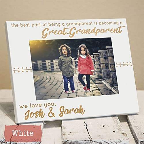 Amazon.com: Personalized Great Grandparents Picture Frame Gift ...
