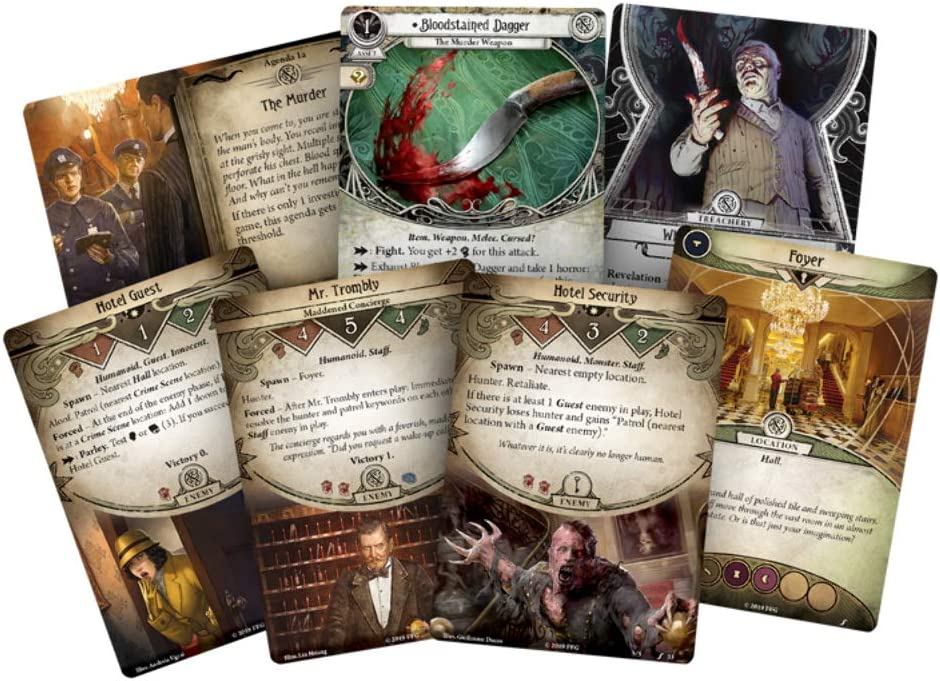 Arkham Horror The Card Game Murder at the Excelsior Hotel NEW SEALED Rare OOP