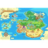 Amazon best print store legend of zelda breath of the wild best print store legend of zelda orcarina of time world map poster gumiabroncs Choice Image