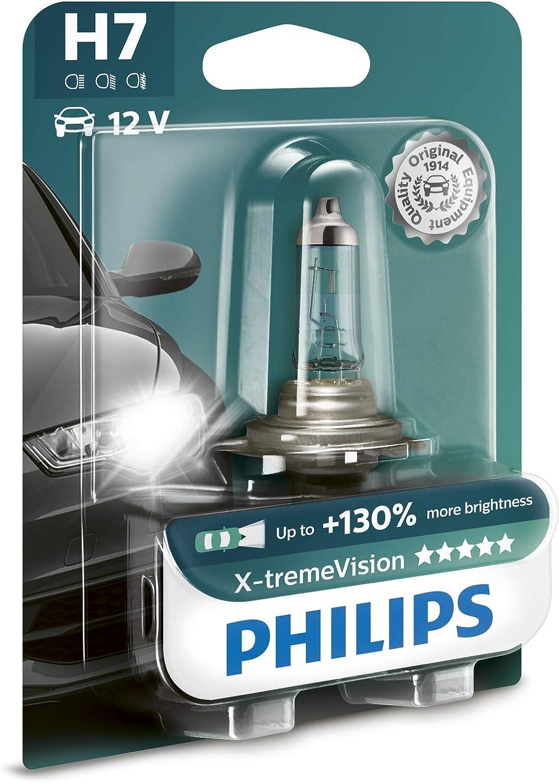H4 Philips Vision 30/% mehr Licht Halogen Lampen Birnen 12V 55W B1 Lampe NEU