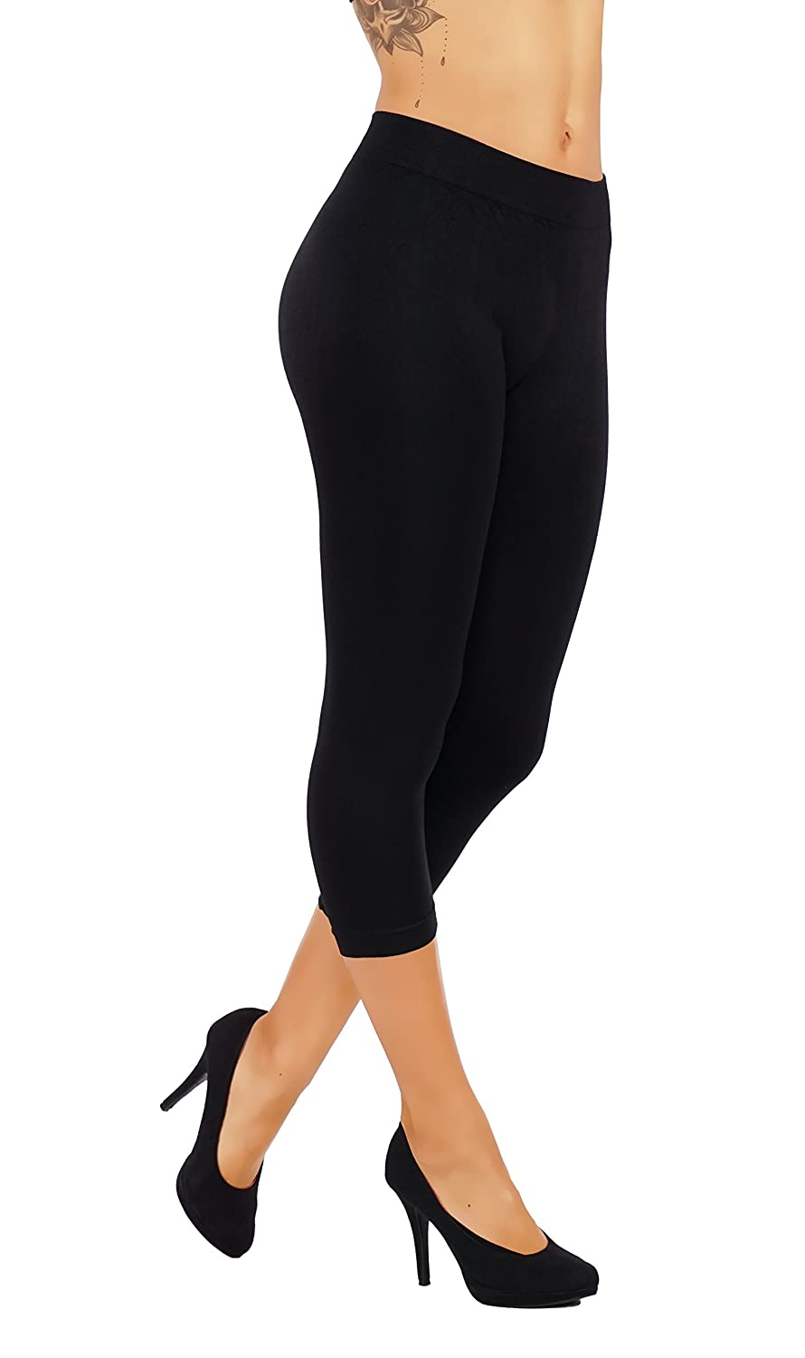 5cb727d64bef15 CASUAL EVERY DAYLEGGINGS: 5starsline pul-up leggings are great for any  occasion from walking at the park to date night available in capri and full  ...