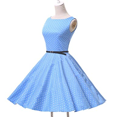 524872f6aea Dresses Audrey Hepburn Sexy Robe Rockabilly 50s 60s Vintage Cotton Jurken  Retro Casual Dress
