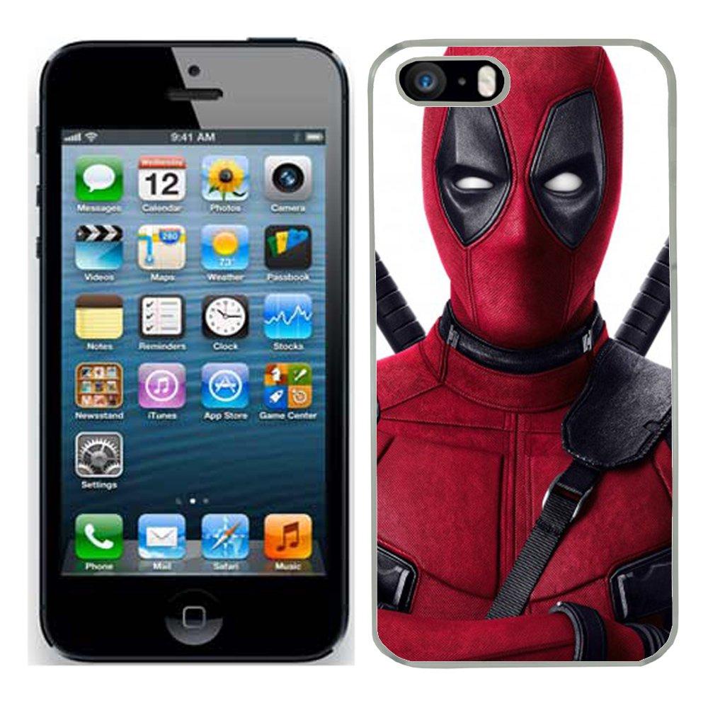Deadpool per iPhone 5S Cover rigida custodia protettiva Per Apple i (7)