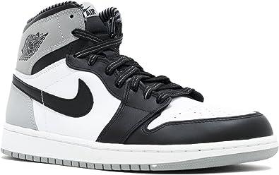 air jordan retro 1 black and grey