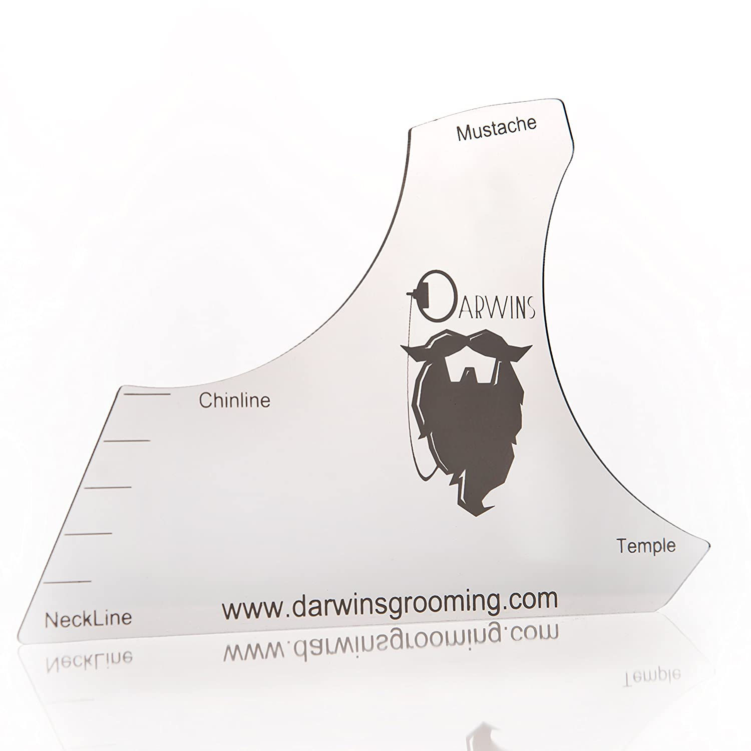picture about Beard Shaping Template Printable called Darwins Beard Shaper Template - (Consists of Absolutely free Beard Comb!) Establish The Great Symmetric