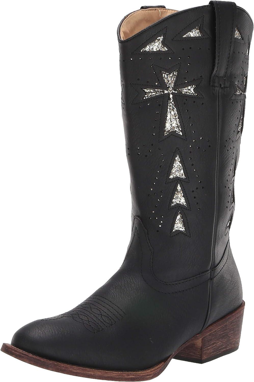 ROPER Women's Glitter Max 40% OFF Fashion Cross Max 54% OFF Boot