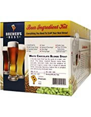 Brewer's Best HOZQ8-1386 Home Brew Beer Ingredient Kit, 5 gal (White Chocolate Blonde Stout), Multicolor
